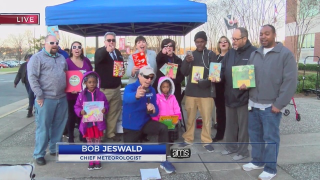 WRBL Book Drive March 2018